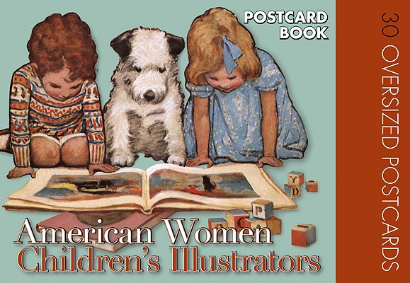American Women Childrens Illustrators Postcard Book